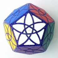 MF8 Bauhinia Dodecahedron Transparent Purple