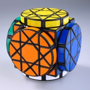 DaYan Cube Dayan  Wheel of Wisdom Magic Cube Puzzle Black