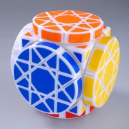 DaYan Cube Dayan  Wheel of Wisdom Magic Cube Puzzle White