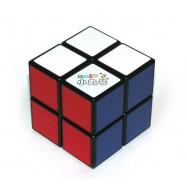 Maru 2x2 XWH Spring/Screw Magic Cube Black