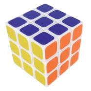 Maru 3x3 Tiny 3cm Speed Cube White