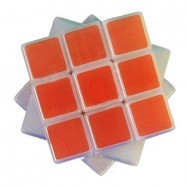 Maru 3x3x3 XWH ShenLan Magic Cube Transparent