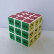 Maru 3x3x3 XWH Music Symbol Magic Cube