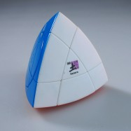 MF8 Coloured Stickerless Crazy Tetrahedron Magic Cube (Saturn)
