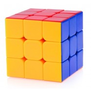 YJ Yu Long 3x3x3 Magic Cube Stickerless (55mm) Colorful