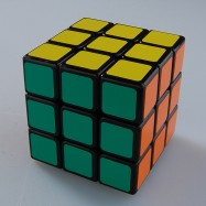 Shengshou Linglong 3x3x3 Magic Cube LingLong 3x3 Speed Cube Black