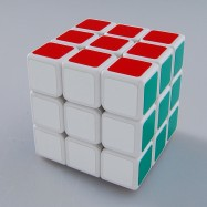 Shengshou Linglong 3x3x3 Magic Cube LingLong 3x3 Speed Cube White